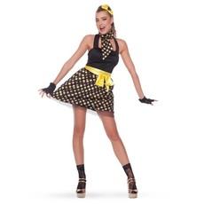 Rock en Roll outfit 4-delig