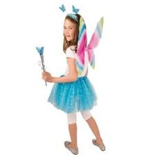 Set vlinder blauw