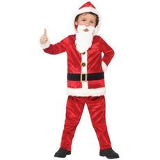 Kerstmannen pak kind met geluid