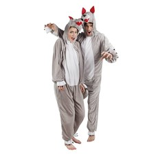 Wolven kostuum man/vrouw