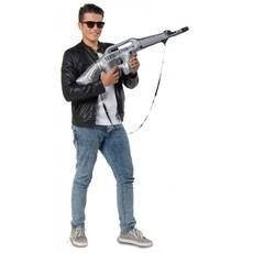 Opblaas machine geweer