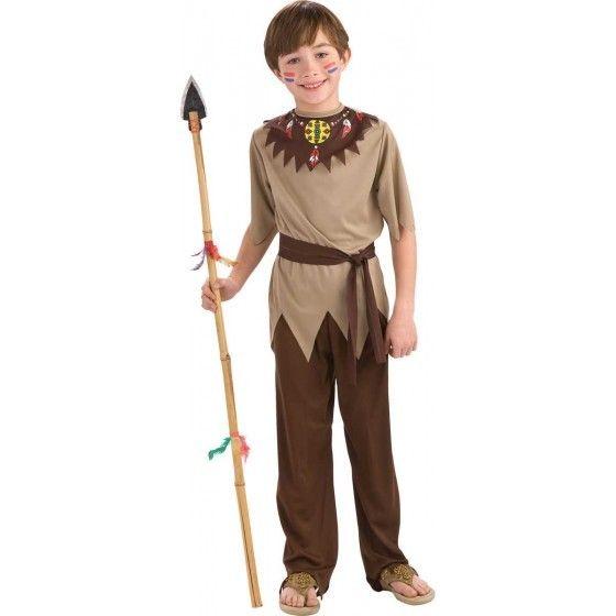 Indiaan krijger kostuum jongen