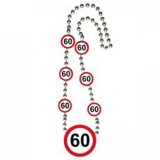 60 jaar Verkeersbord Ketting