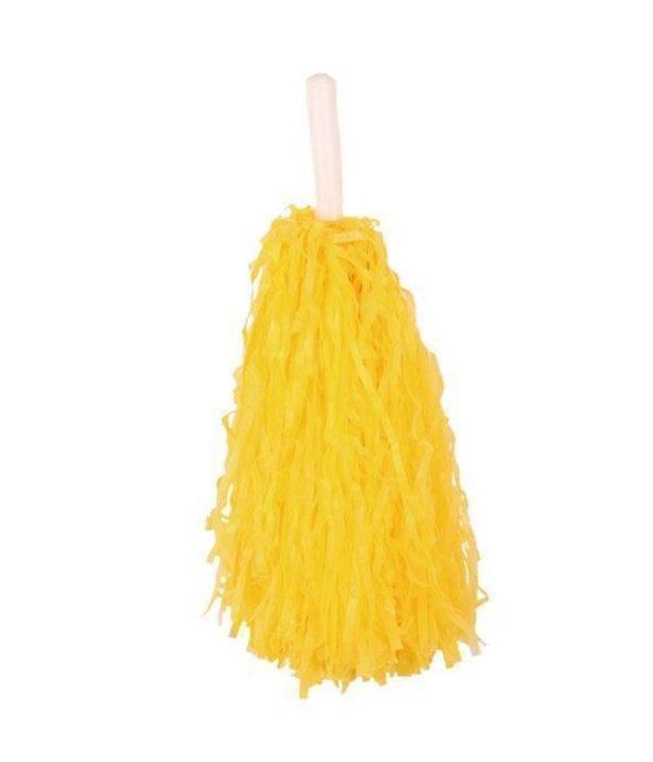 Pom Pom chearleader geel stick