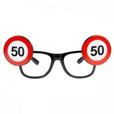 Bril verkeersbord 50 jaar