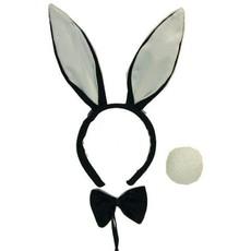 Bunny set zwart