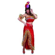 Braziliaanse samba dames kostuum