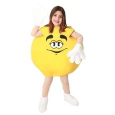 Snoepje kostuum kind geel