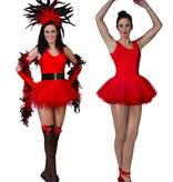 Ballerina pakje rood