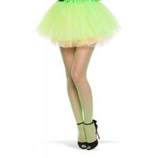Neon Groene Visnet Panty