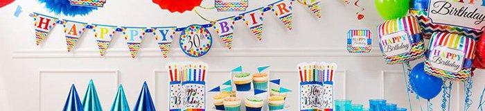 Verjaardag versiering voor alle leeftijden!
