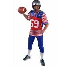 Rugby speler Amerika kostuum man