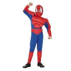 Gespierde spiderman pak kind