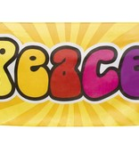 Banner 'Peace' 74 x 220 cm