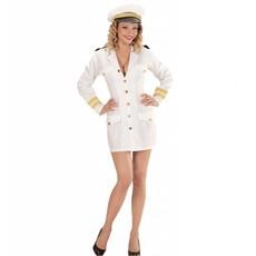 Vrouwelijke marine kapitein pakje
