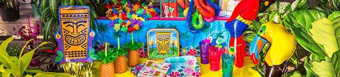 Maak jouw tropische party compleet met Hawaii kleding!