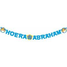 Letterslinger hoera Abraham
