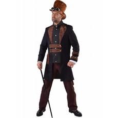 Steampunk heer kostuum elite