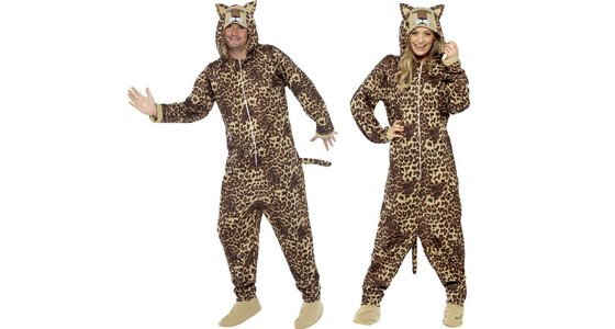 Luipaard kostuum