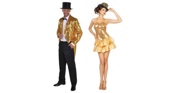 Gouden kleding