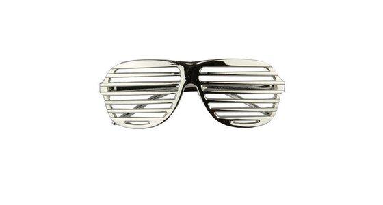 Zilveren bril
