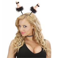 Haarband piemel met strikjes