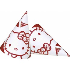 Hoedjes Hello Kitty Apple 6 stuks