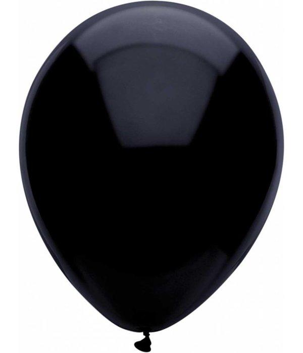 Ballonnen zwart 30 cm 100 stuks