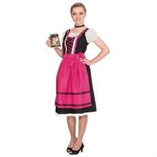 Beierse dirndl jurk met nekband