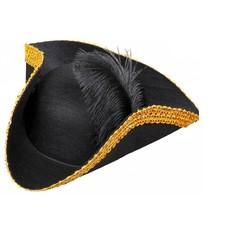 Tricorn hoed markies/piraat