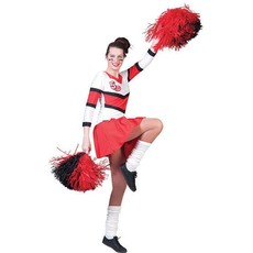 Cheerleader jurk Cherry