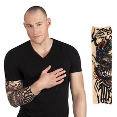 Tattoo Sleeve Dragon Skull
