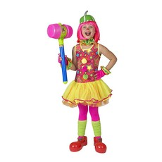 Clown Meisje jurkje stars