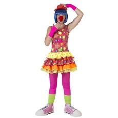 Clownsjurk dames Stars