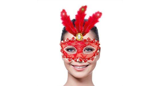 Rode masker