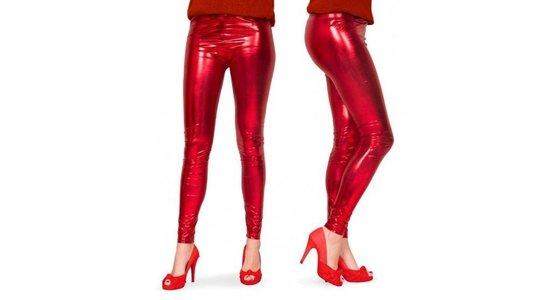 Rode legging - panty - kousen
