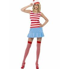 Waar is Wally cutie kostuum