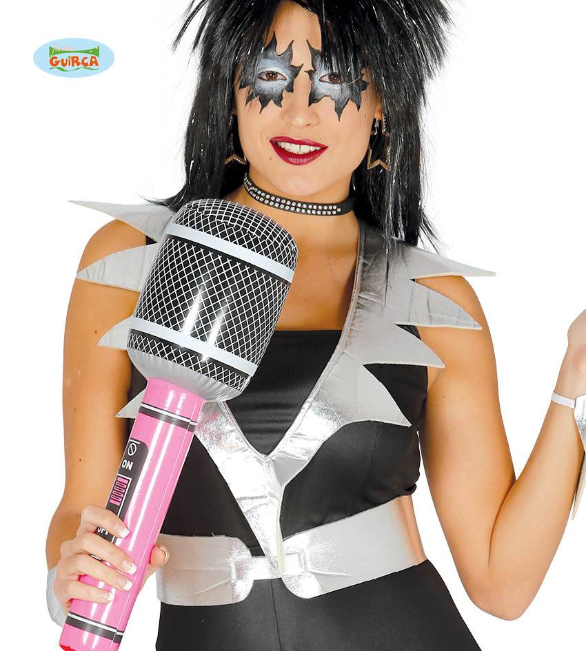 Rocker Microfoon opblaasbaar 50cm