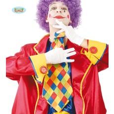 Geruite Stropdas Clown
