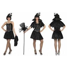Spiderweb Heksen kostuum dames