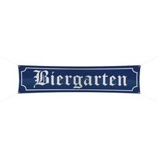 Spandoek Biergarten 180x40cm