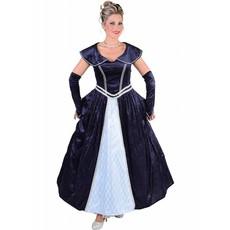 Edelvrouw kleding marine middeleeuwen