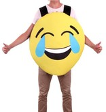 Emoticon smiley lachend kostuum