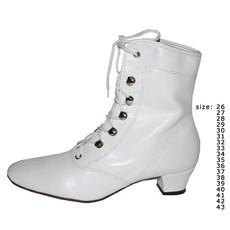 Witte laarsjes dansmarieke