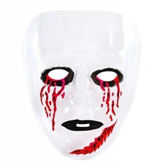 Masker Transparant Bloedende Ogen