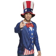 Uncle Sam Shirt Foto Realistisch
