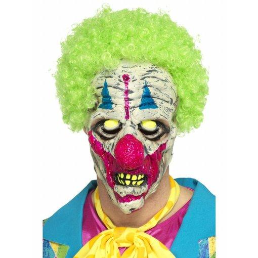 UV Blacklight Killer Clown masker