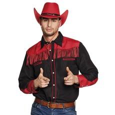 Western blouse heren