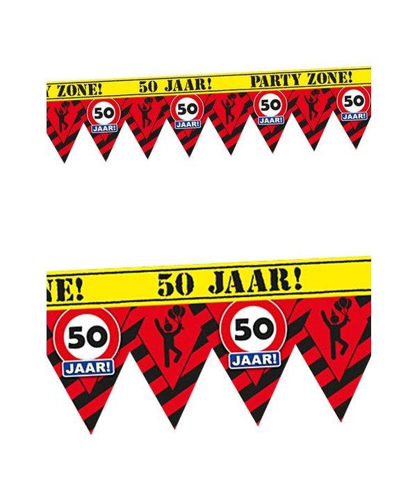 Afzetlint 50 jaar partyzone