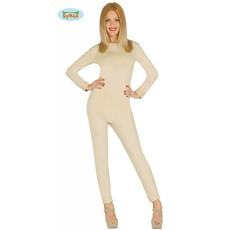 Bodysuit vrouw lichaamskleur spandex